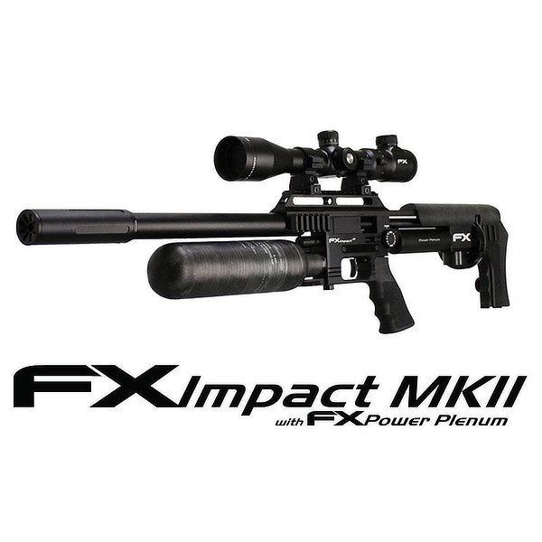 CARABINA FX IMPACT MK II X ''NEGRA'' POWER PLENUM
