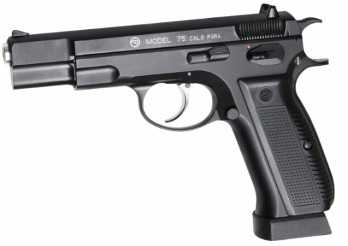 CZ 75 Blowback - 4,5 mm Co2 Steel Bbs