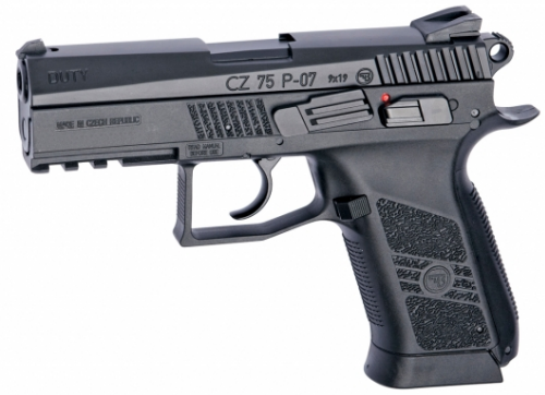 CZ 75 P-07 DUTY - 4,5 mm Co2 Steel Bbs