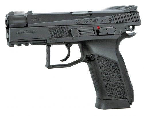 CZ 75 P-07 DUTY Blowback - 4,5 mm Co2 Steel Bbs
