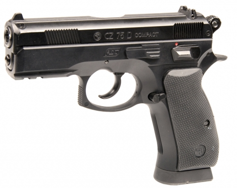 CZ 75D Compact - 4,5 mm Co2 Steel Bbs