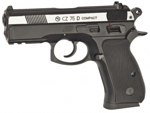 CZ 75D Compact Duotone metalic slide - 4,5 mm Co2 Steel Bbs