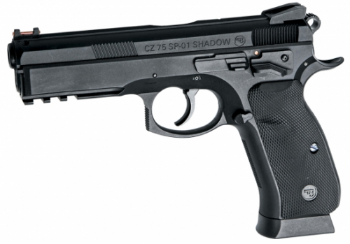 CZ SP-01 SHADOW -No Blow-Black 4,5 mm Co2 Steel Bbs