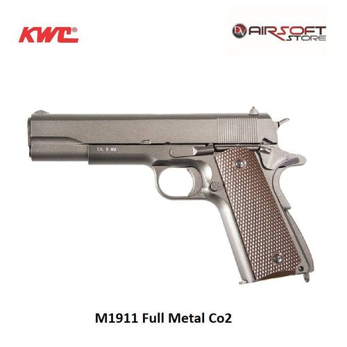 KWC 1911  CO2 FULL METAL BLOW BACK - 4,5 mm Steel BBs