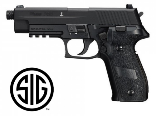 Sig Sauer P226 Black - Blowback CO2 - 4,5 mm Steel Bb's / Pellets