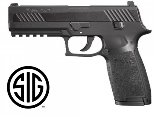 Sig Sauer P320 Black CO2 - 4,5 mm Pellets