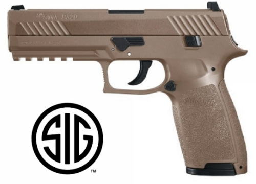 Sig Sauer P320 Coyote CO2 - 4,5 mm Balines