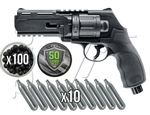 UMAREX HDR REVOLVER RUBBER BALL .50 CO2    KIT 179€ CON ESTUCHE INCLUIDO SIN CARGO