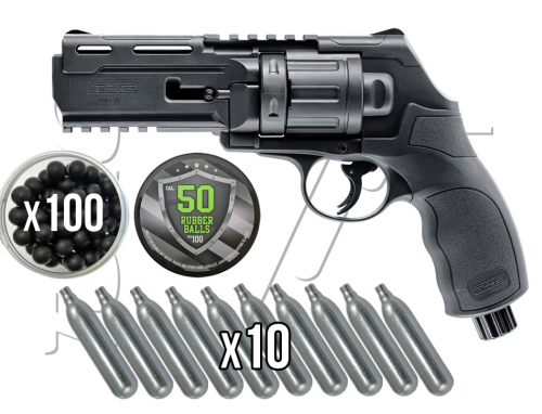 REVOLVER RUBBER BALL .50 CO2