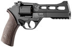 REVOLVER RHINO BLACK 4,5MM Y 6 MM AIRSOFT